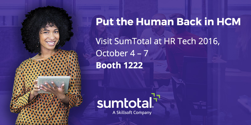 SumTotal at HR Tech Conference 2016
