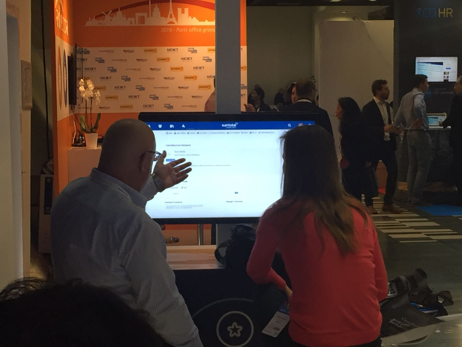 SumTotal Demo at HR Tech World