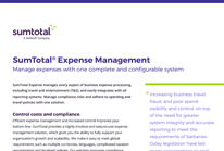 SumTotal Expense Management