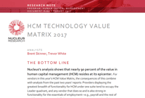 SumTotal placed in the leader quadrant for second consecutive year – HCM Technology Value Matrix