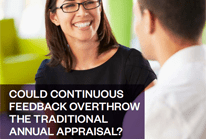 Could continuous feedback overthrow the traditional annual appraisal?