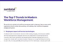 The Top 7 Trends in Modern Workforce Management