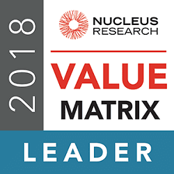 Leader in the 2018 HCM Technology Value Matrix