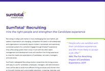 SumTotal® Recruiting