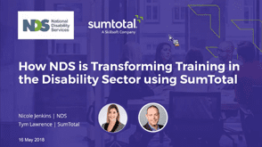 How NDS is Transforming Training in the Disability Sector