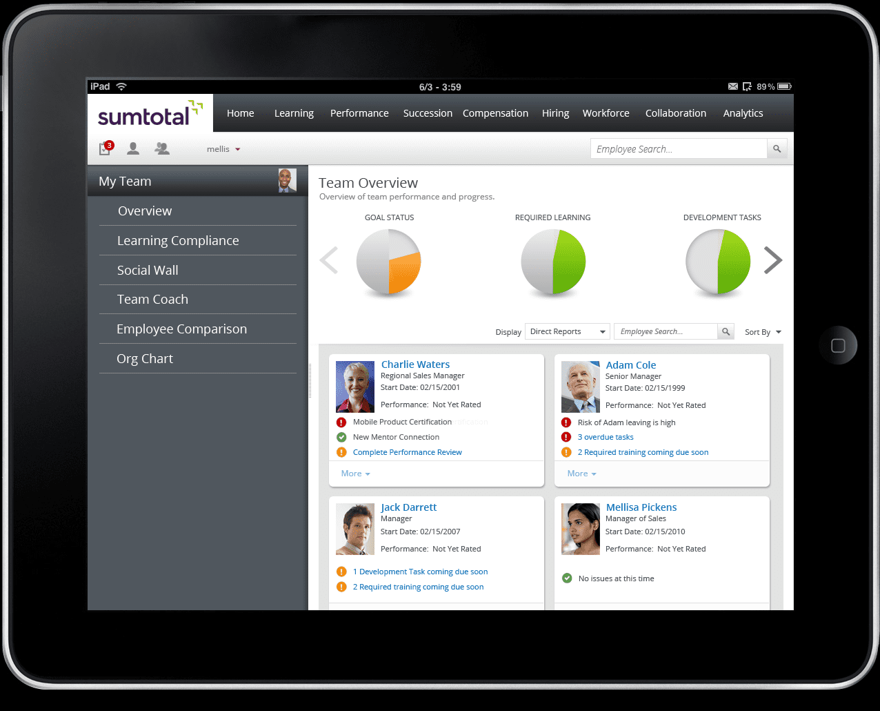 Context Aware Ux For Hr Sumtotal Press Release