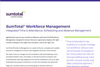 SumTotal Workforce Management