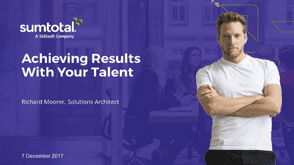 Achieving Results With Your Talent 3