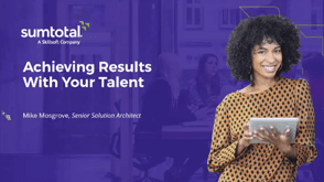 Achieving Results With Your Talent 2