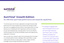 SumTotal® Growth Edition