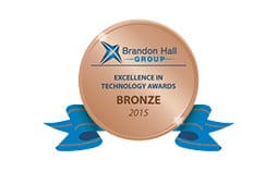 Brandon Hall Group 2015 Excellence in Technology