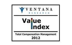 Ventana Research Value Index 2012 – Total Compensation Management