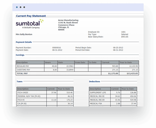 Streamline all Administration Types with SumTotal Benefits