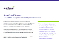 SumTotal Learn Datasheet