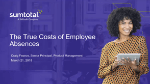 The True Cost of Employee Absences