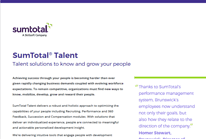 SumTotal Talent Datasheet