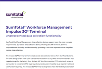 SumTotal® Workforce Management Impulse 3G® Terminal