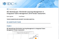 IDC MarketScape: Worldwide Learning Management in Integrated Talent Management 2018 Vendor Assessment