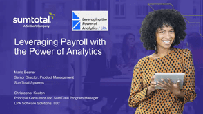 Leveraging Payroll with the Power of Analytics