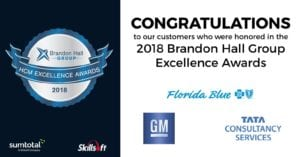 SumTotal customers win Brandon Hall Group Excellence Awards