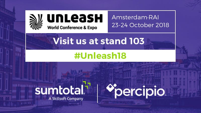Going to UNLEASH 2018? Be Sure to Stop By the SumTotal Stand