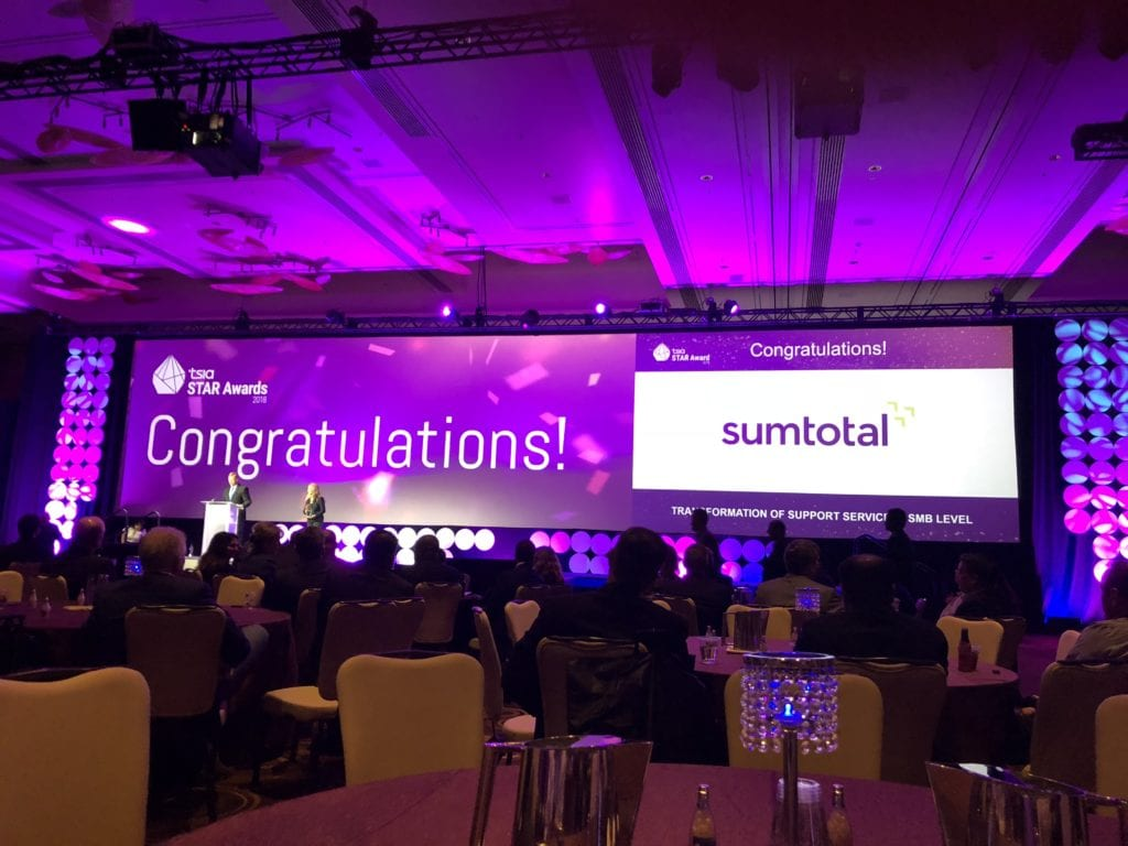 SumTotal wins award for transformation of customer support program
