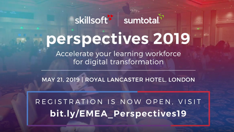 What EMEA Perspectives 2019 Means for SumTotal