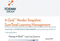 9-Grid Vendor Snapshot: SumTotal Learning Management