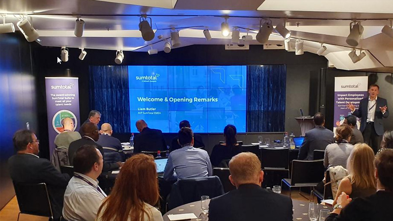 On the Road: Highlights from SumTotal's 2019 European Roadshow