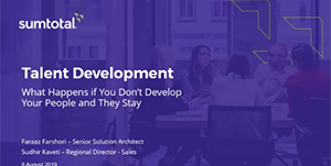 Talent Development: What Happens if you Don't Develop Your People and They Stay – India
