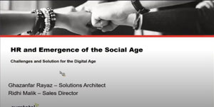 HR and Emergence of the Social Age