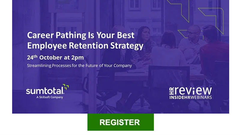 "Register for webinar ""Career Pathing Is Your Best Employee Retention Strategy"