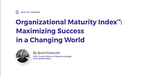 Organizational Maturity Index™: Maximizing Success in a Changing World