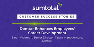 Domtar Paper Company's Sarah Waltman – Enhance Career Development