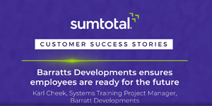 Barratts Developments ensures their employees remain compliant while developing them for future roles