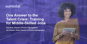 One Answer to the Talent Crisis:  Training for Middle-Skilled Jobs