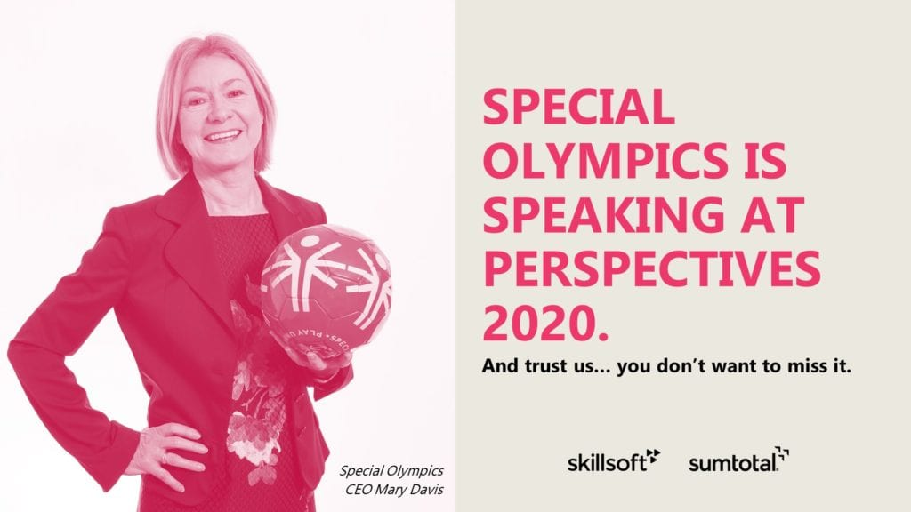 Special Olympics joins Skillsoft's digital experience, Perspectives